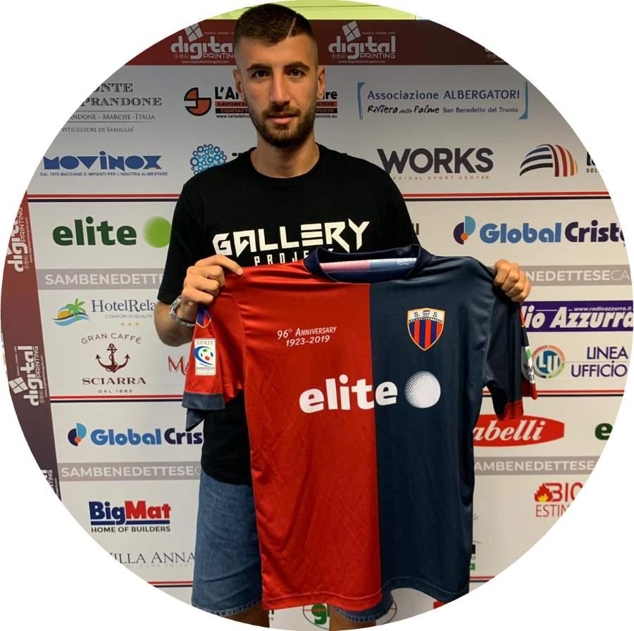 Emilio Volpicelli è un nuovo giocatore della Samb