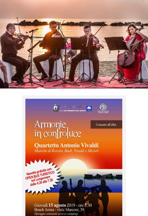 Armonie in Controluce, Concerto all'Alba di Ferragosto