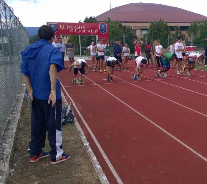 Atletica, 95 giovani per il raduno di Camerino