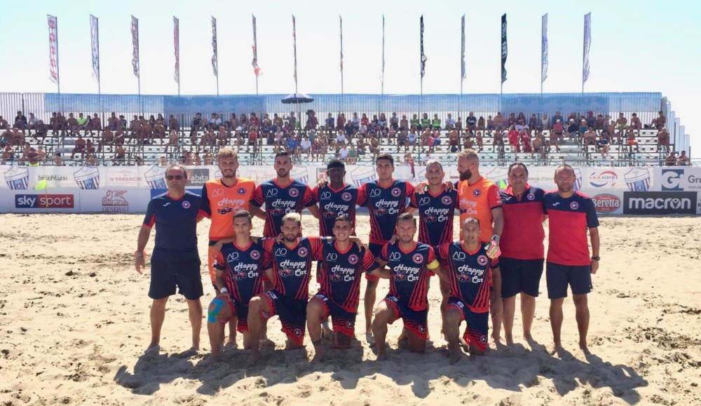 Beach Soccer serie Aon, sconfitta sfortunata ma indolore per la Samb