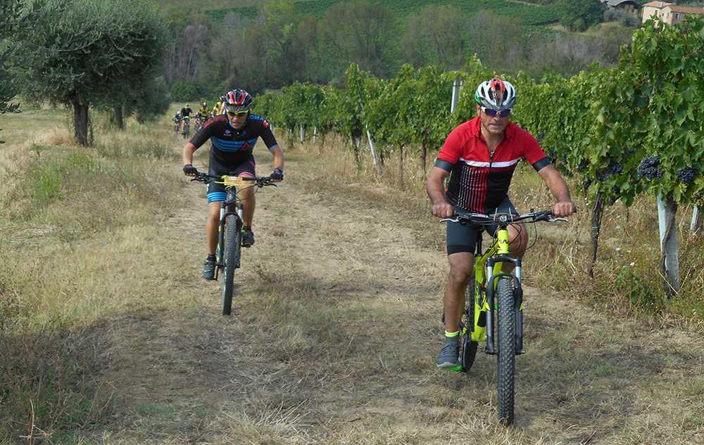 Mountain Bike, successo per la 6a Wine Bike