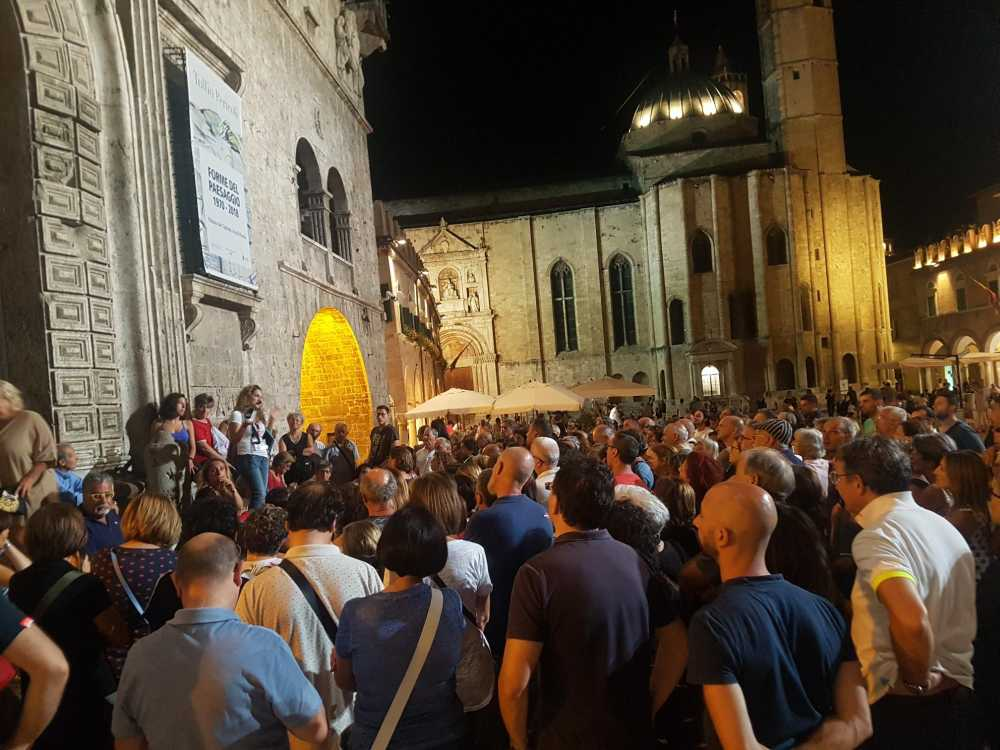 """Salute in cammino, exploit di partecipanti per """"Le chiese scomparse di Ascoli"""""""
