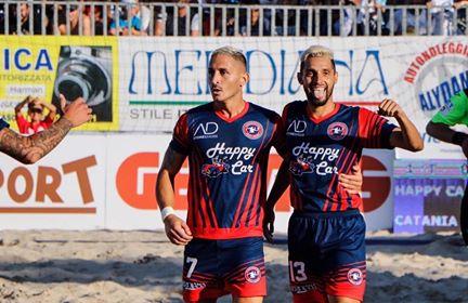 Beach Soccer serie Aon, la Samb batte Pisa e vola in testa alla classifica