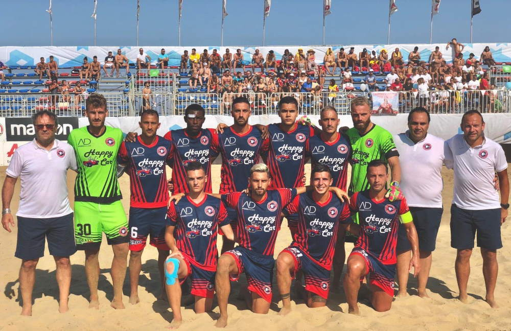Beach Soccer serie Aon, Samb – Sicilia 4 a 0