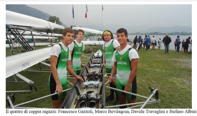 La Lega Navale Italiana San Benedetto rappresenta la Regione Marche al Trofeo delle Regioni 2019 di canottaggio
