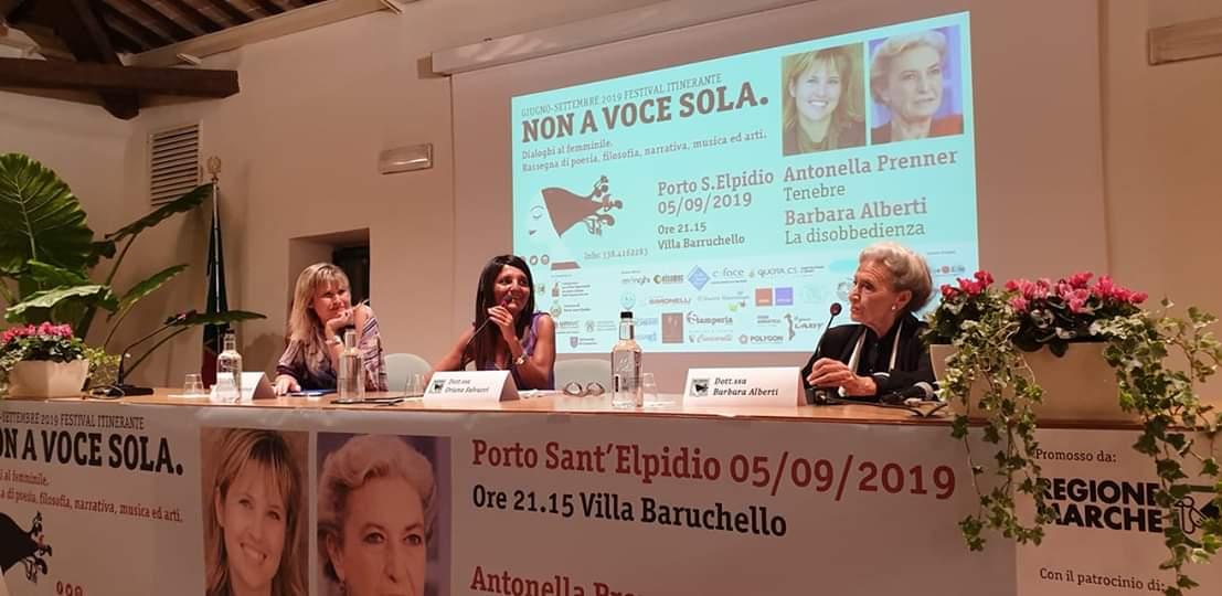 Antonella Prenner e Barbara Alberti, due autentiche mattatrici @ Non a Voce Sola