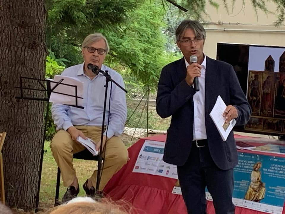 Annunciazioni 'crivellesche' tra Marca e Abruzzo a Rotella