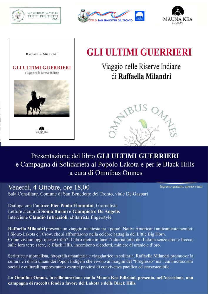 """Raffaella Milandri, """"Gli Ultimi Guerrieri"""""""