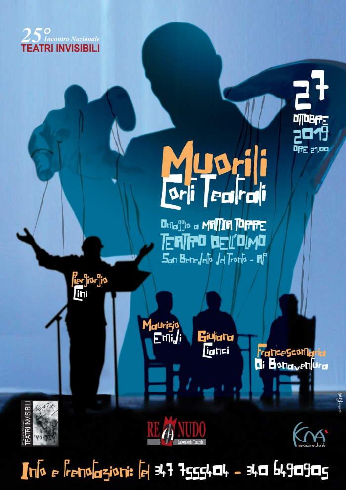 Muorili, omaggio a Mattia Torre al Teatro dell'Olmo