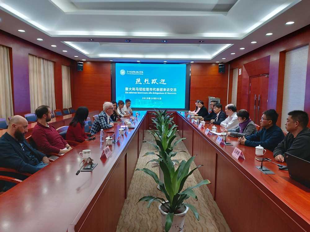 Viaggio delegazione maceratese a Taicang