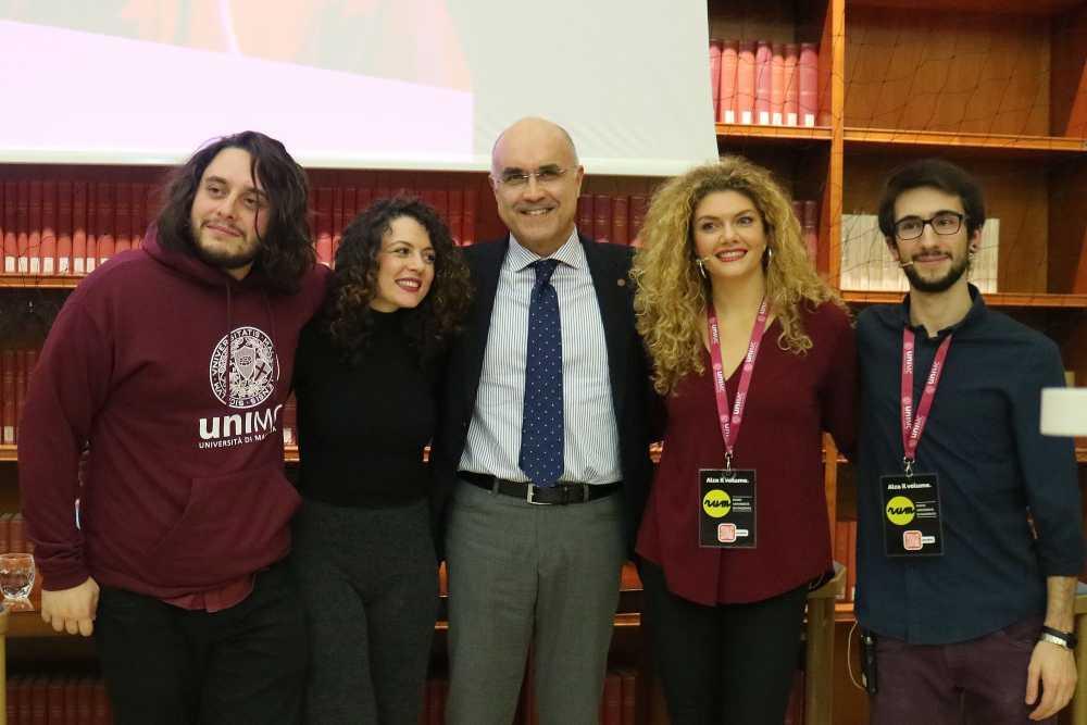 Francesco Lettieri si racconta a UniMc tra parole e musica