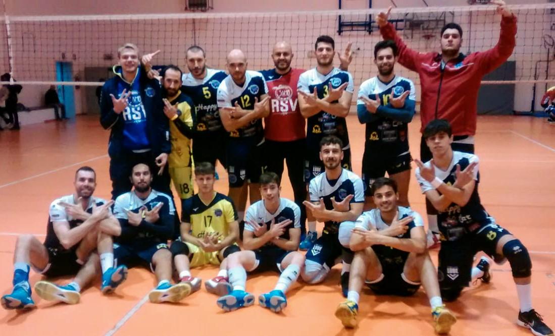 La Riviera Samb Volley maschile batte 5!