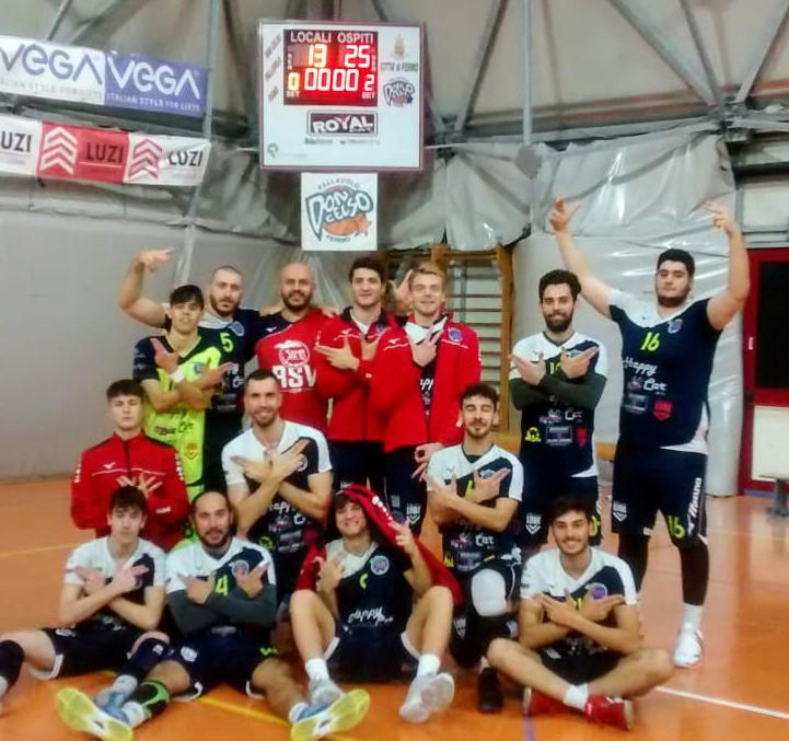 Samb Volley: inarrestabili i ragazzi di Netti, ottavo 3 – 0 consecutivo