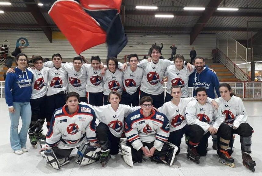 Samb Hockey in line U16: la Samb batte anche il Milano Quanta