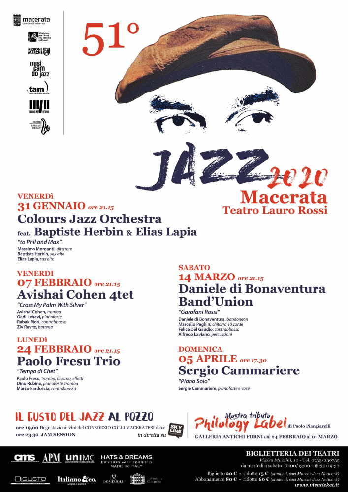 Macerata Jazz 2020, si apre la campagna abbonamenti alla 51ma edizione