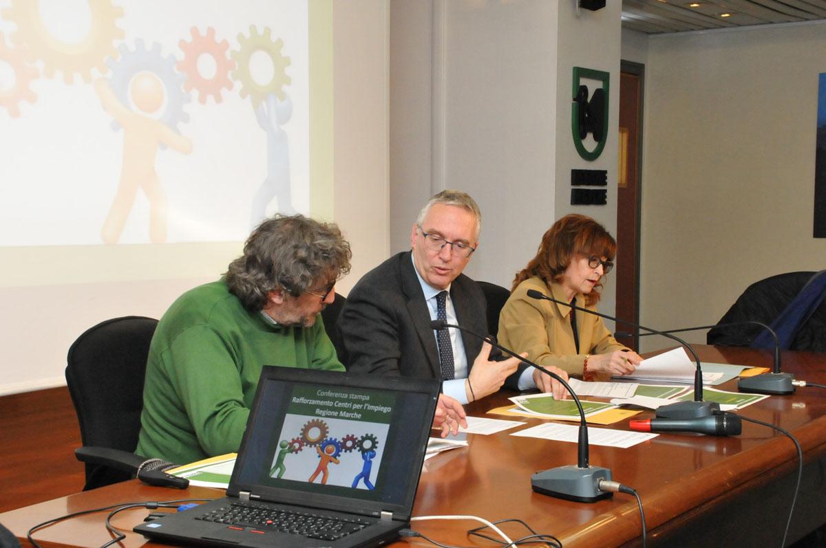 Potenziamento straordinario dei Centri per l'Impiego della Regione Marche