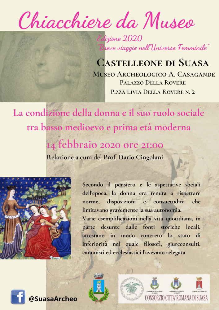 Chiacchiere da Museo a Castelleone
