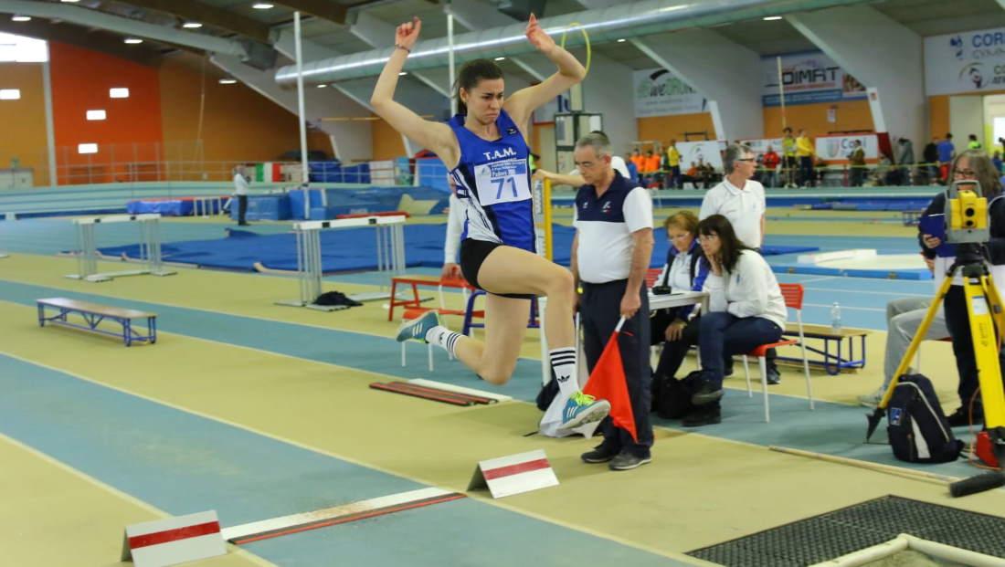 Cuccù, campionessa italiana nel Pentathlon