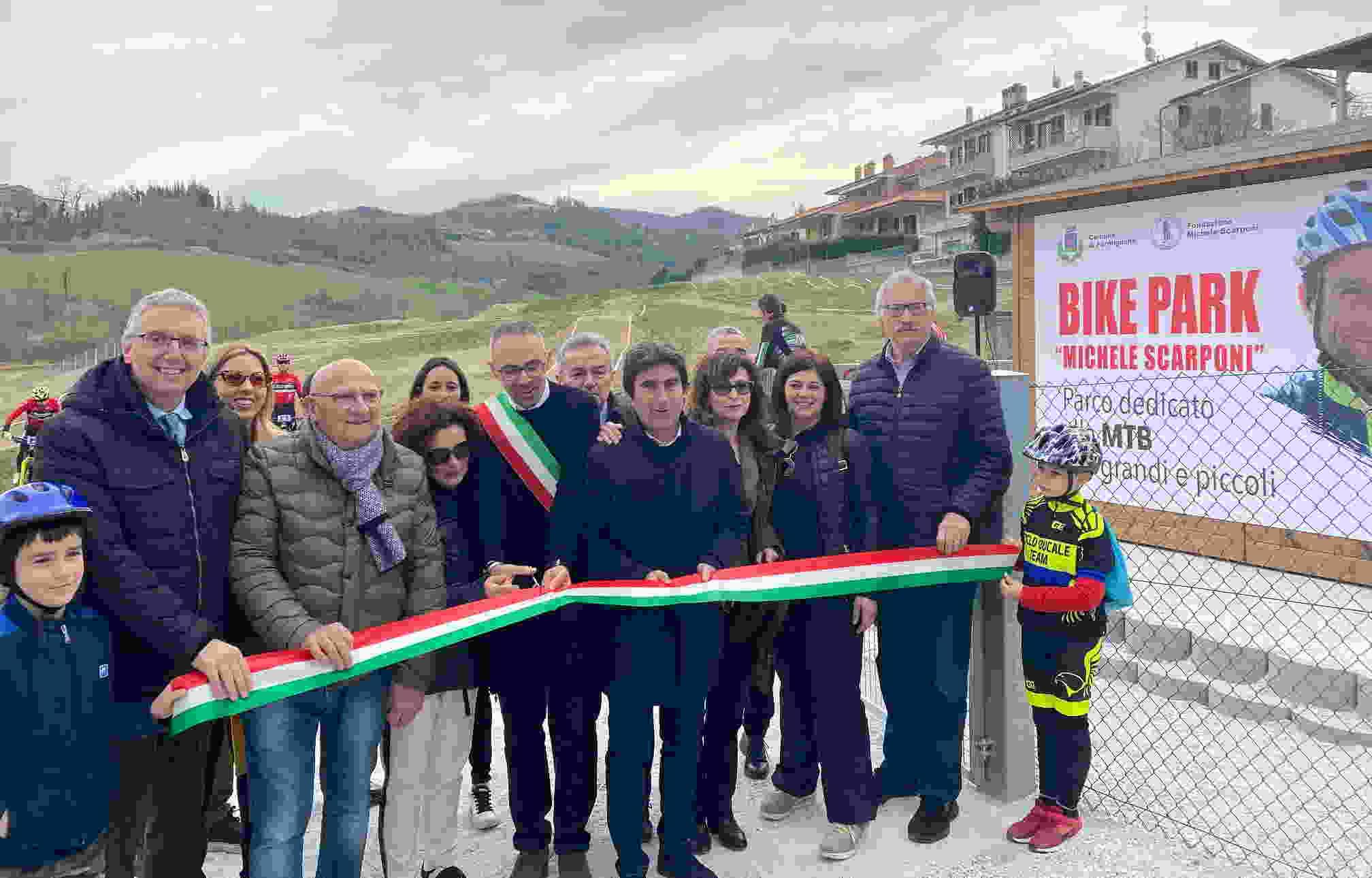 Inaugurato il Bike Park di Fermignano
