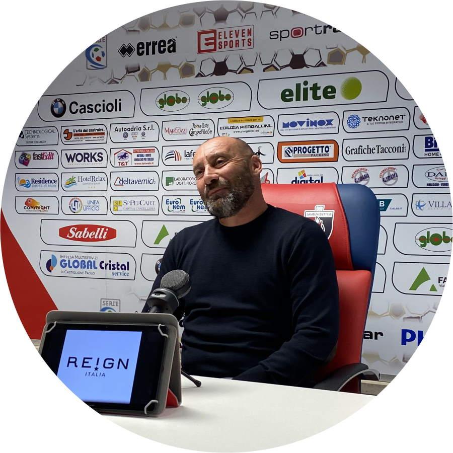 Samb, Calciomercato e dintorni, video conferenza del ds Pietro Fusco. Convocati