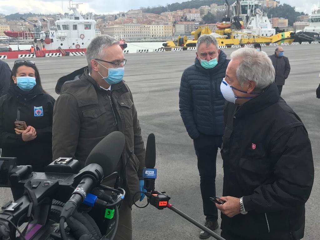 """Il Presidente Luca Ceriscioli: """"Il lavoro non si ferma, neanche dalla quarantena"""""""