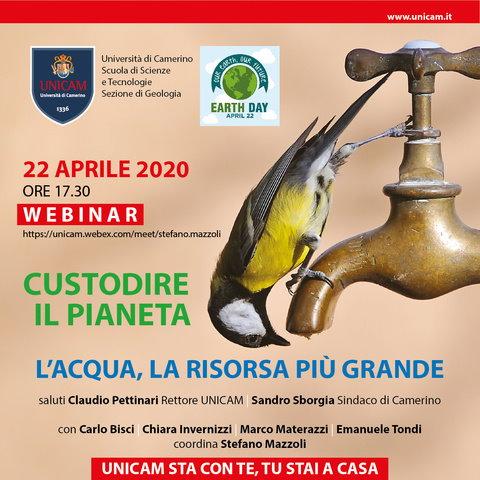 Seminario UniCam per la Giornata Mondiale della Terra