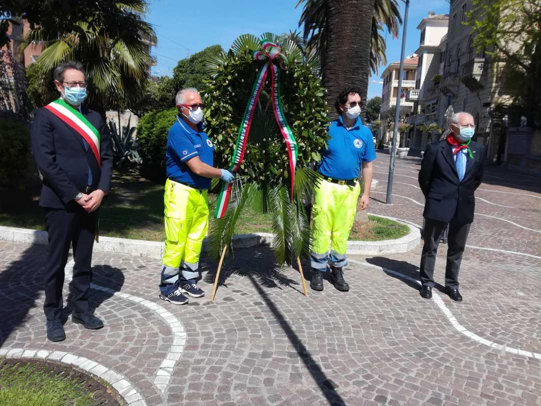 La cerimonia del 25 aprile a San Benedetto