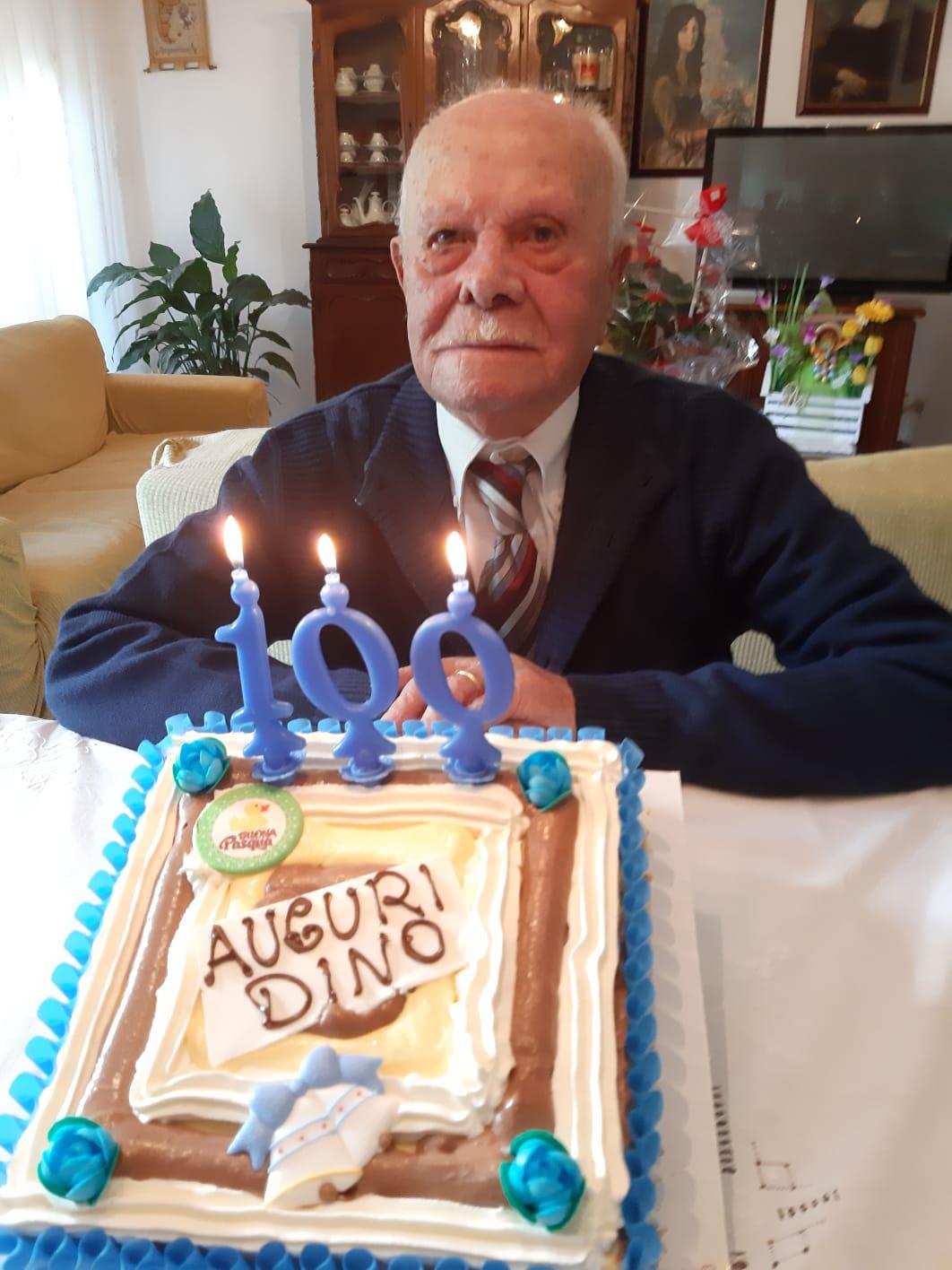 100 anni di Dino Mauloni