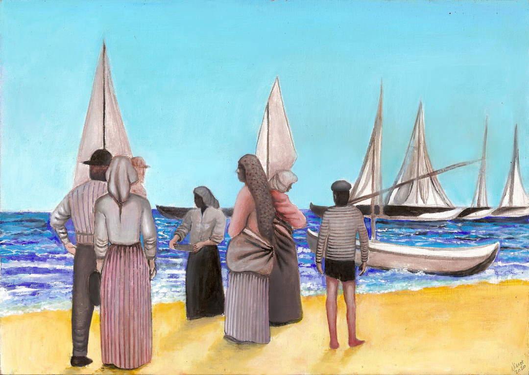 """Nima Tayebian, """"La pesca a San Benedetto del Tronto"""" verso il Festival dell'Arte sul Mare 2020"""