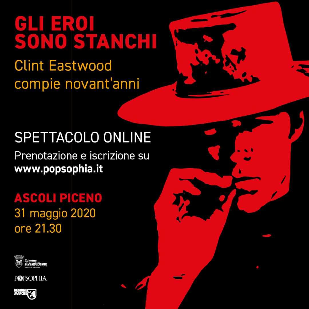 Popsophia lancia il primo philoshow web per i 90 anni di Clint Eastwood