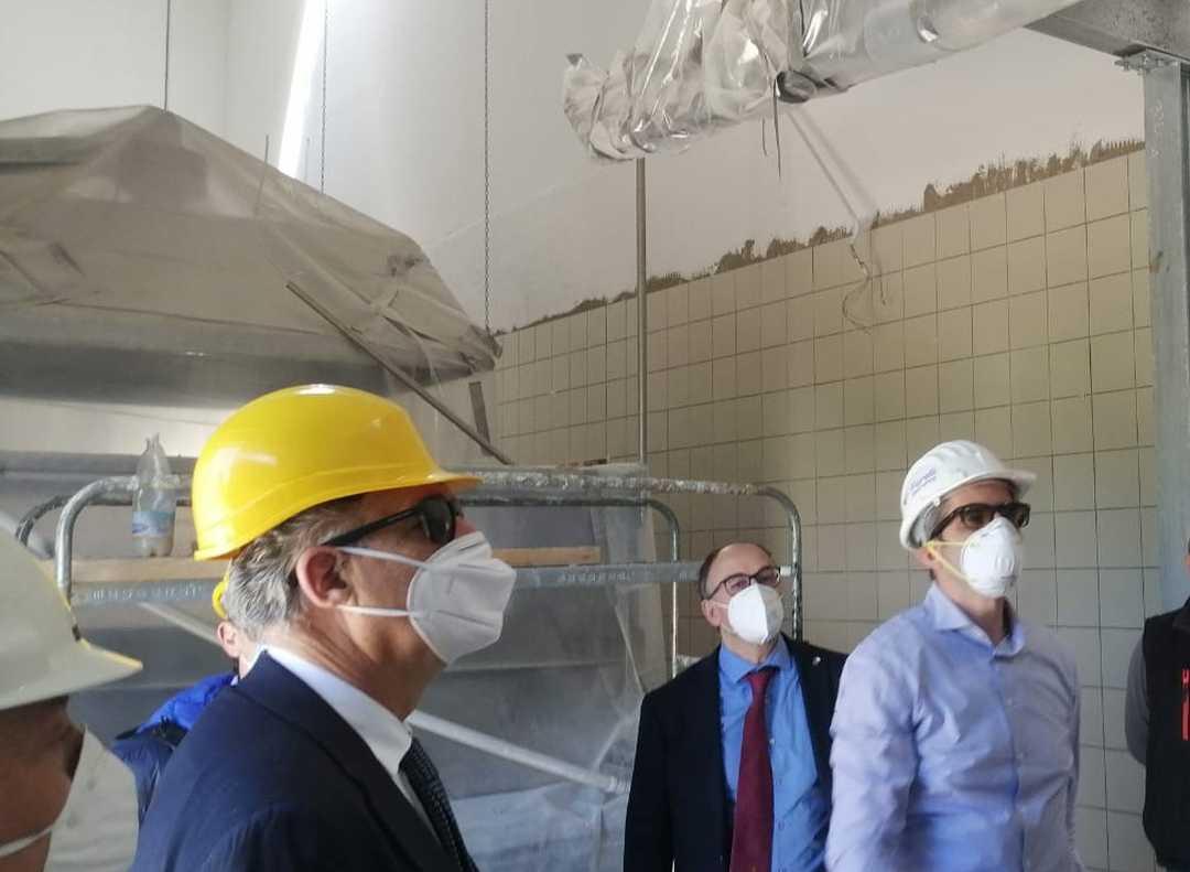 Ricostruzione, Legnini a Camerino fa ripartire i cantieri