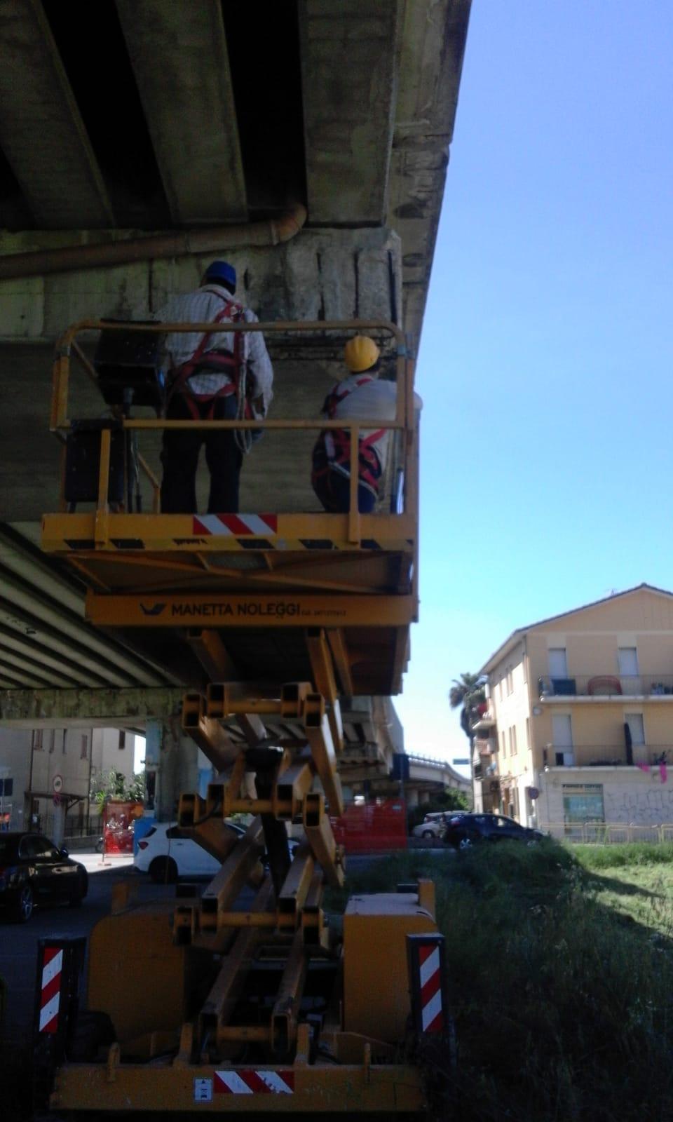 Chiusura notturna del viadotto S.p. 227 Raccordo Ascoli Mare – Porto d'Ascoli