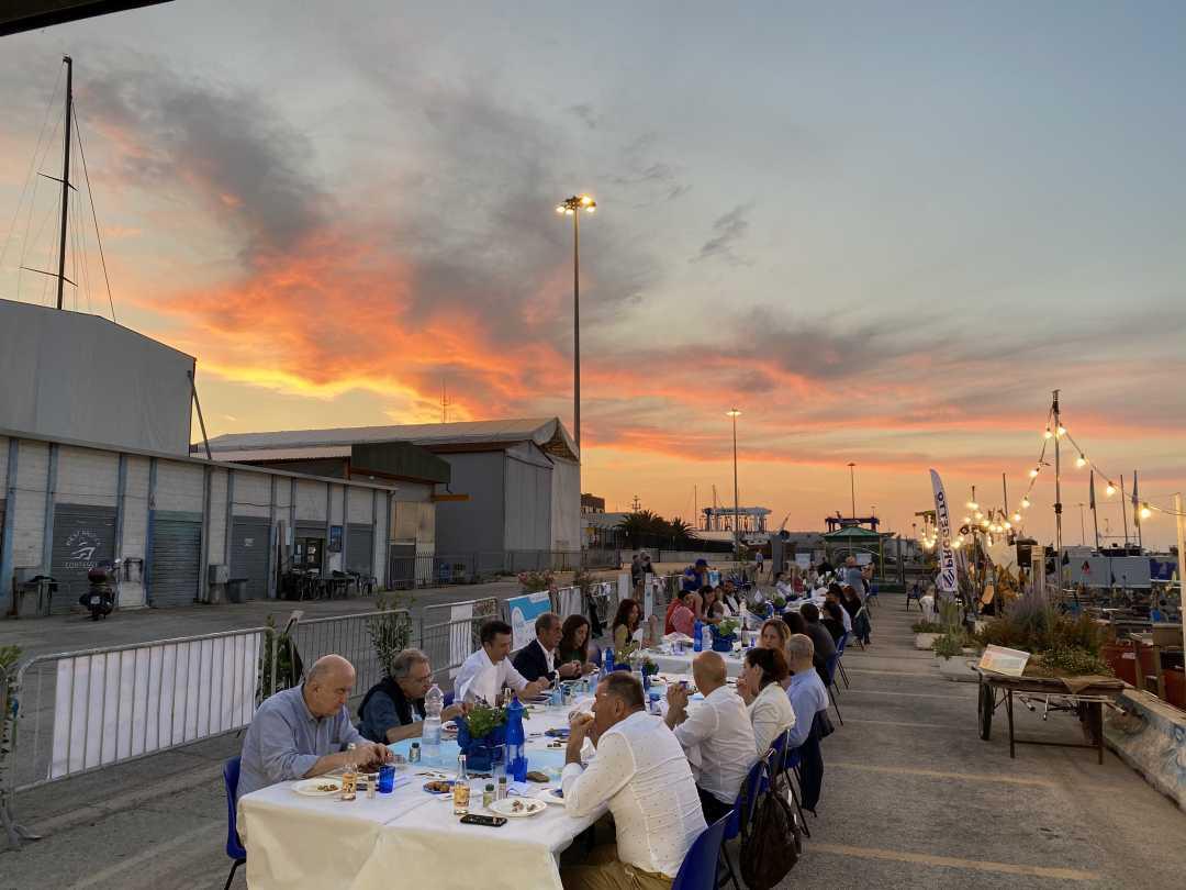è la Cena al tramonto con i Pescatori