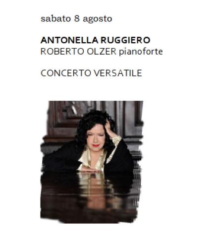 """Antonella Ruggiero, 'Concerto Versatile' per chiudere """"Nel cuore, nell'anima"""""""