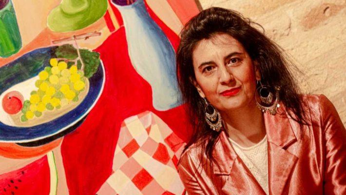 Virginia Di Saverio: successo per la personale d'arte alla Torre dei Gualtieri
