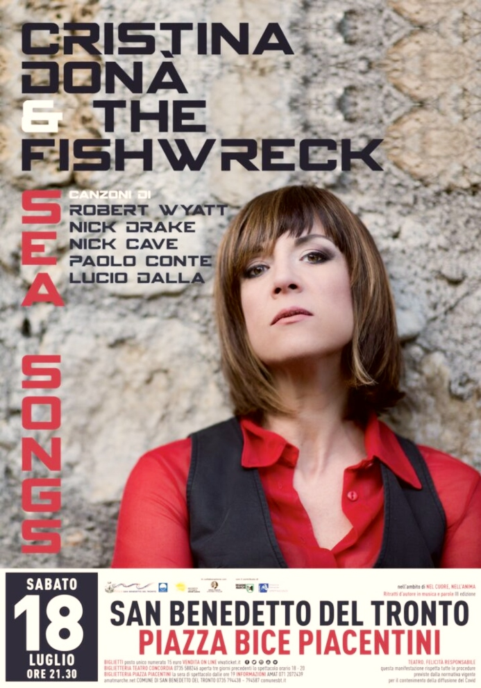 """Finalmente musica dal vivo: stasera Cristina Donà presenta """"Sea Songs"""" a San Benedetto"""
