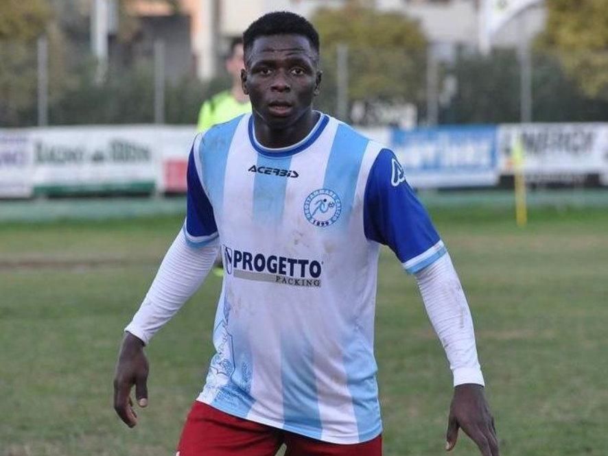 Jallow Ansumana ancora con il Grottammare Calcio