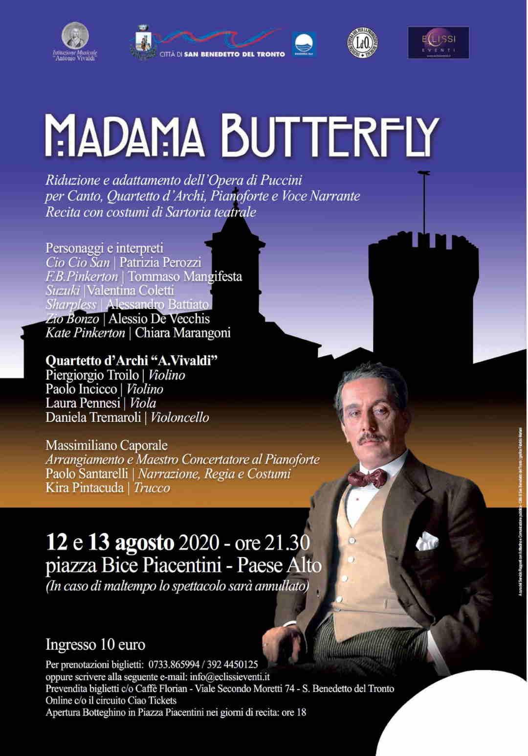Madama Butterfly al Paese Alto di San Benedetto