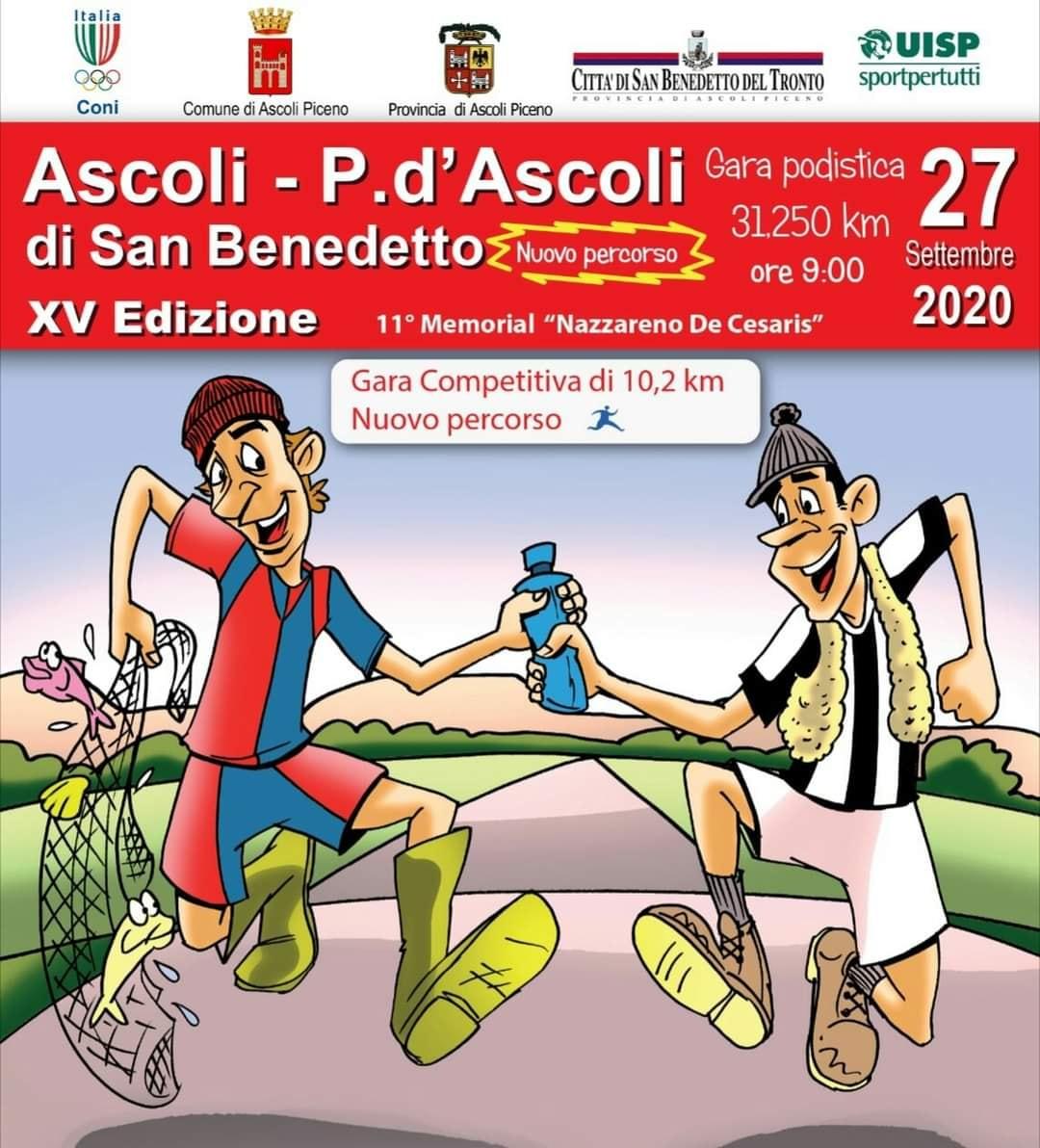 Adugna Biniyam Senibeta e Tappatà Denise vincono la gara podistica Ascoli – Porto d'Ascoli