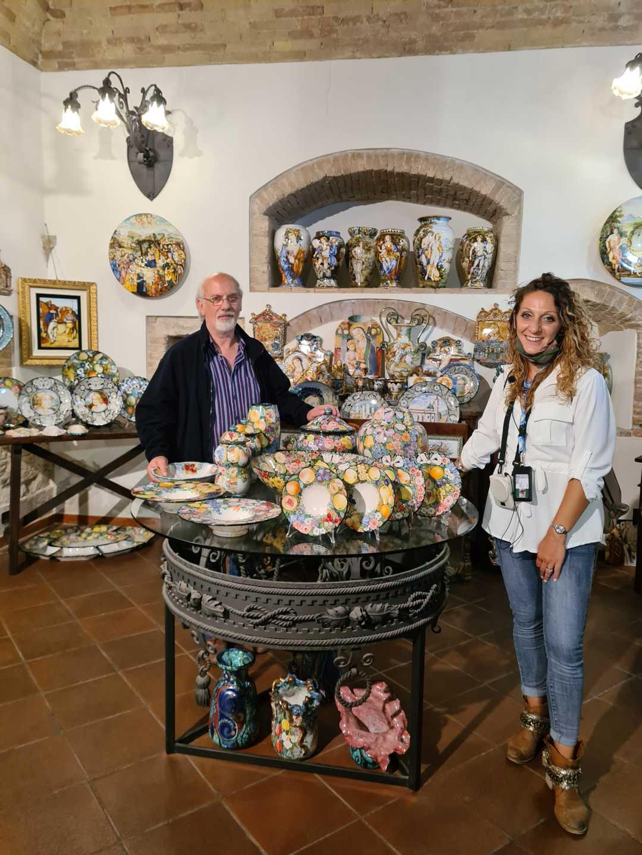 """Salute in cammino, successo per """"Le fabbriche e gli artisti della ceramica ascolana"""""""