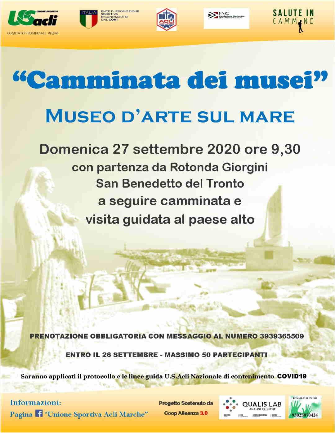 """La """"Camminata dei musei"""" alla sesta edizione"""
