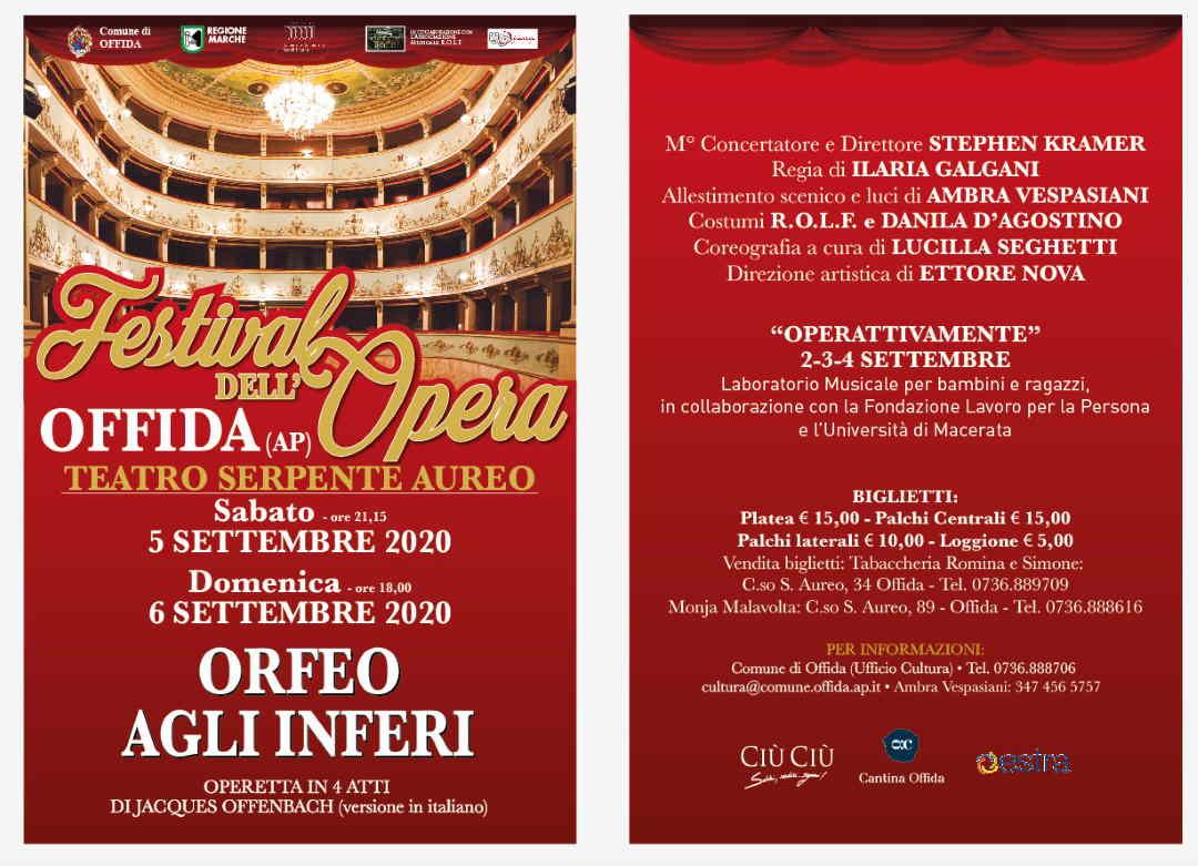 A Offida va in scena Orfeo agli Inferi, l'operetta di Offenbach