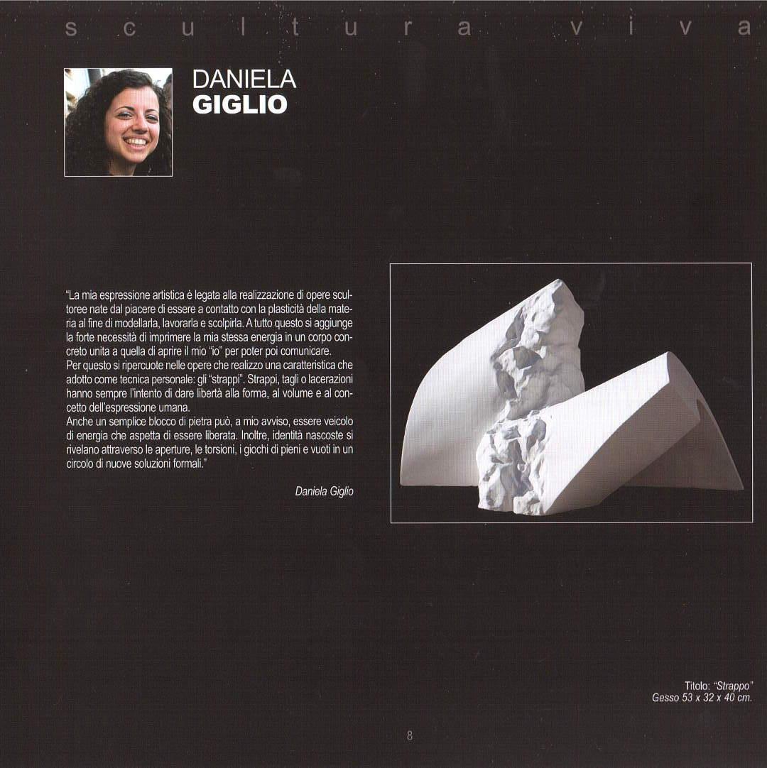 """Daniela Giglio verso il """"Festival dell'Arte sul mare"""" 2020"""