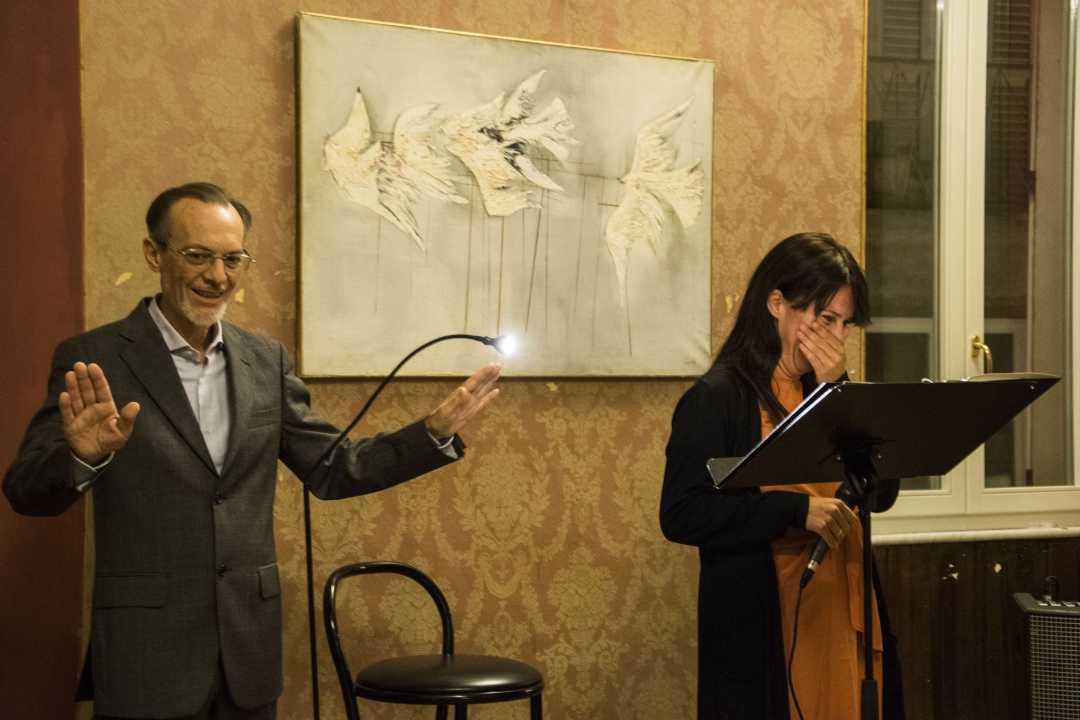 Dopo Carmelo Bene c'è la microchirurgia culturale di Maurizio Boldrini in operazione Leopardi alla Philosofarte