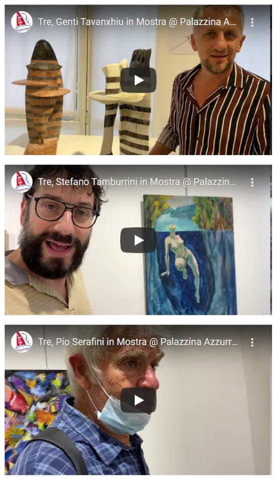 """Qui """"Festival dell'Arte sul Mare""""… un tuffo nel mare e nella storia di San Benedetto: video interviste al Gruppo Tre"""