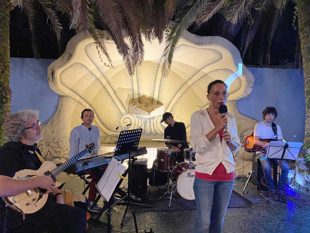 """Magica """"Serata Jazz"""" del Giacinto Cistola quartet @ Palazzina Azzurra"""
