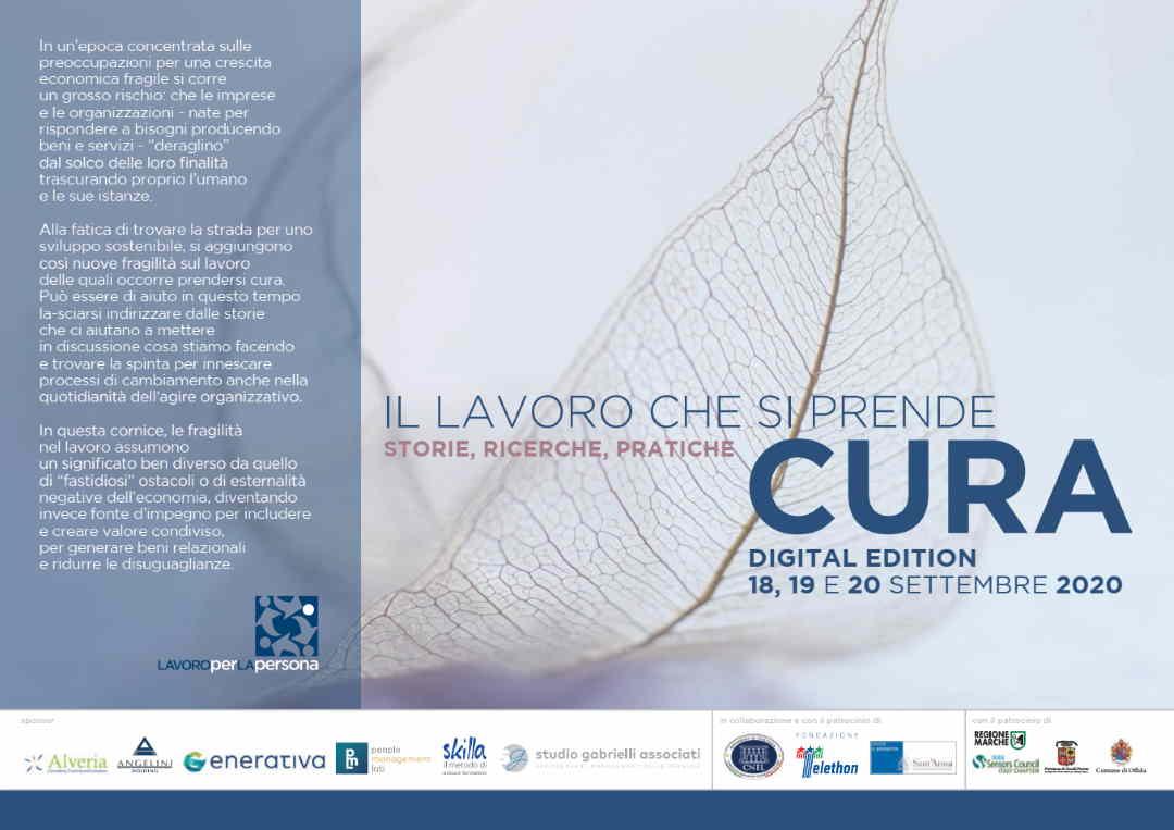 """Fondazione Lavoroperlapersona, 7° seminario """"Il lavoro che si prende cura. Storie. Ricerche. Pratiche"""""""