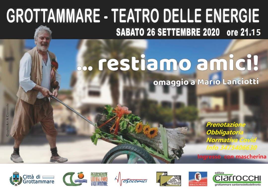 Grottammare ricorda l'attore Mario Lanciotti. Serata memorial in suo onore