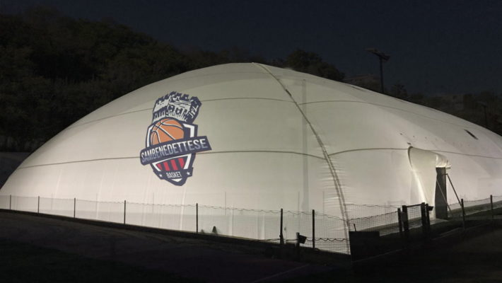 Nuovo impianto sportivo Samb Basket al Parco Cerboni