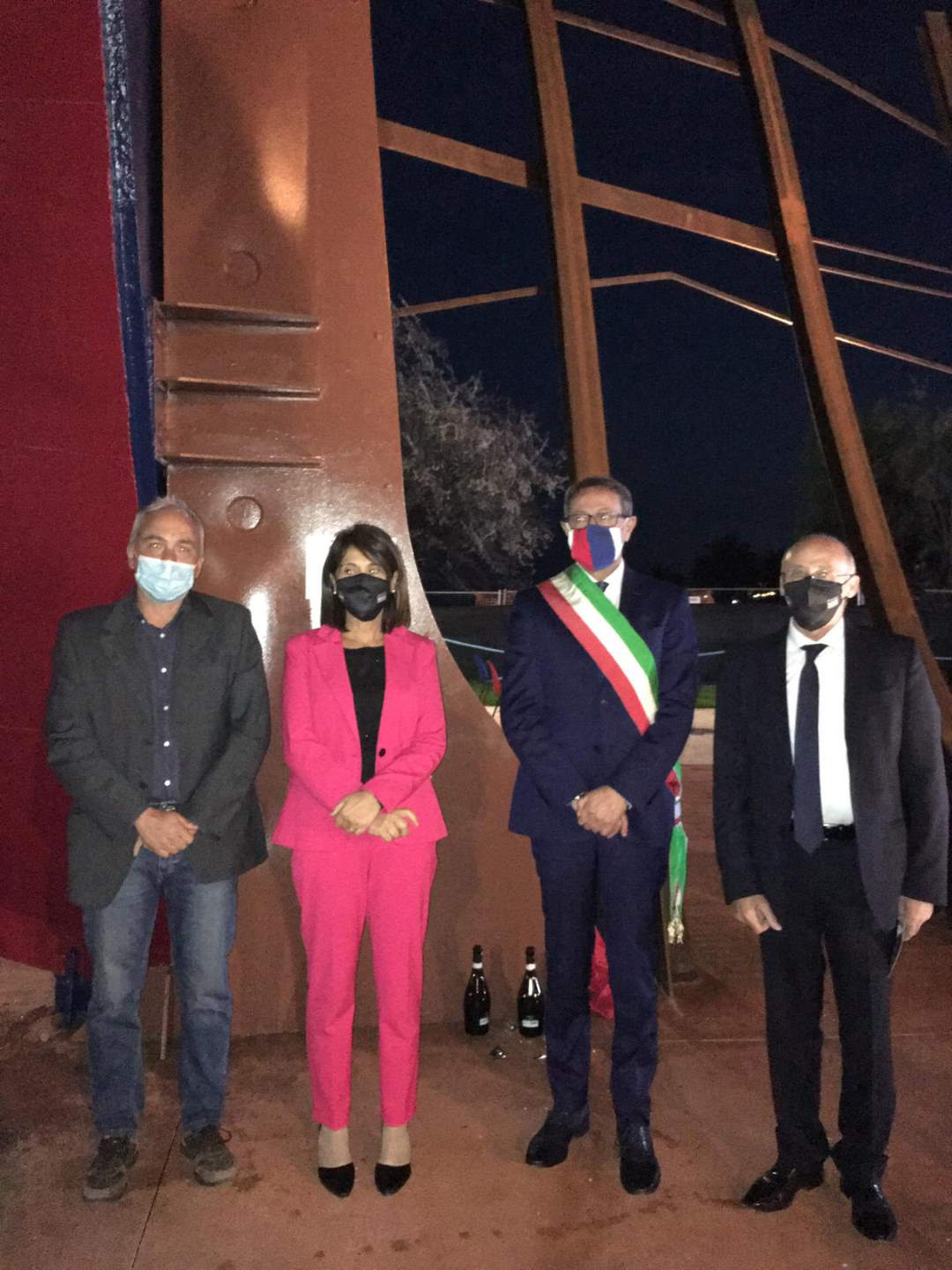L'impegno del saper fare degli artigiani della Cna Picena per il monumento alla marineria oceanica sanbenedettese
